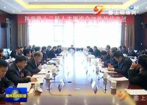 点击观看《省十二届人大四次会议榆林代表团审议省法检两院工作报告》