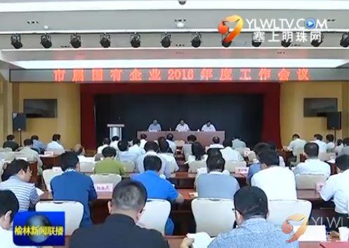 市属国有企业2016年度工作会议举行